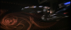 Enterprise in wormhole